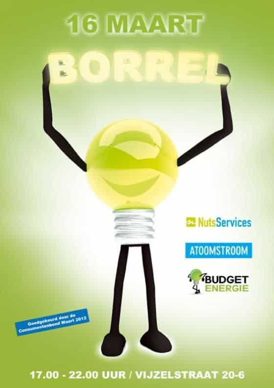Butget Energie en Atoomstroom Poster voorbeeld