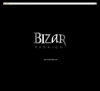 Bizar Fashion website voorbeeld