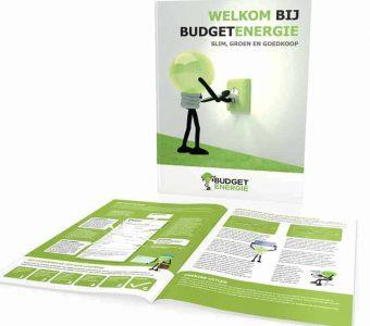 Budget Energie voorbeeld folder