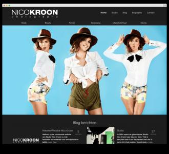 Studio Nico Kroon website voorbeeld