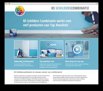 RS Schildescombinatie website voorbeeld