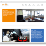 via360 website voorbeeld